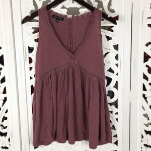 Kendall and Kylie mob baby doll blouse